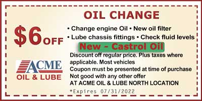 photo relating to Castrol Oil Coupons Printable called Acme Automobile Clean Salinas